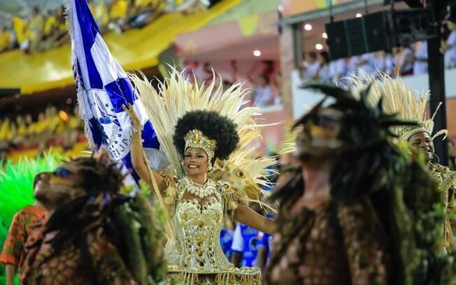 Desfile da Beija-flor. Foto: Tata Barreto/ Riotur