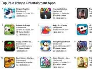 Loja conta atualmente com 550 mil aplicativos