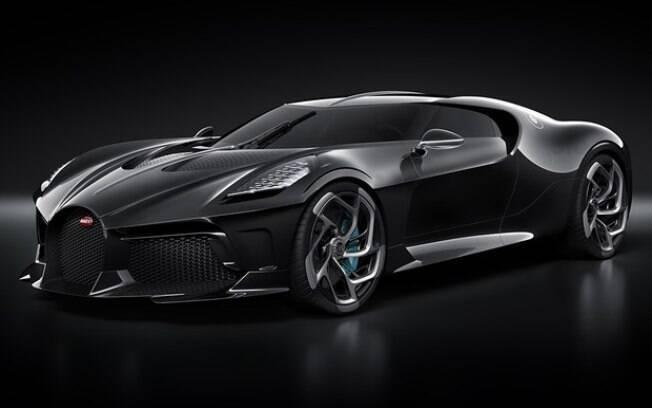 O Bugatti La Voiture Noire custou 11 milhões de euros na Europa, mas no Brasil não sairia por menos de R$ 67,8 milhões.
