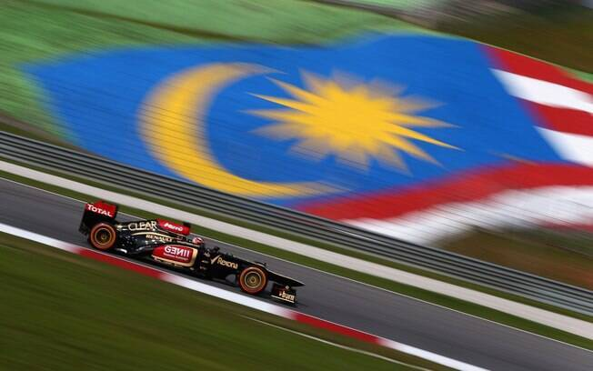 Kimi Raikkonen fez o melhor tempo do segundo  treino livre para o GP da Malásia
