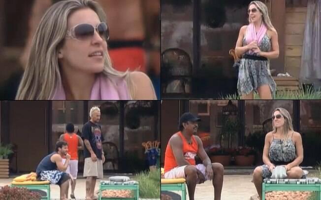 Joana Machado estava ansiosa para gravar o recado para João Kléber