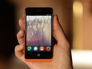 Smartphone da Geeksphone com FirefoxOS: disponível apenas para desenvolvedores
