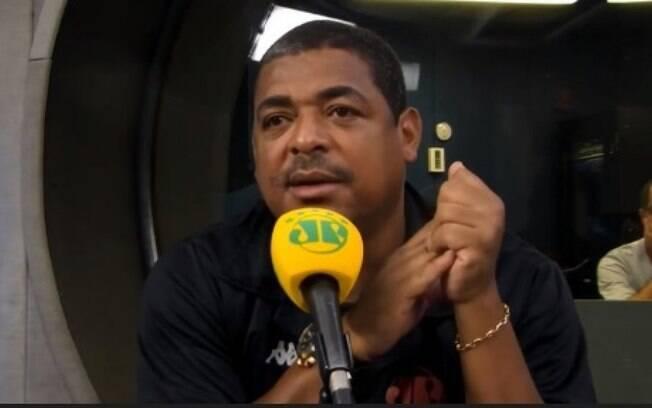 Vampeta comentou de Felipe Melo programa da Jovem Pan