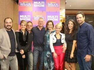 Todo o elenco de 'Acredita', reunido no lançamento do programa
