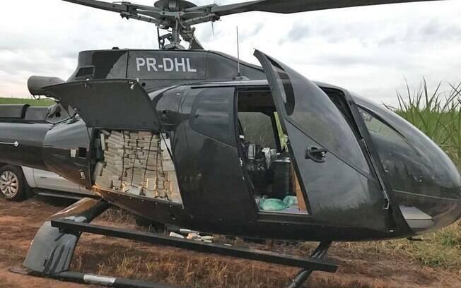 A aeronave usada no transporte de cocaína era avaliada em aproximadamente R$ 4 milhões