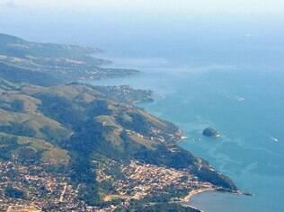 Vista panorâmica de Ilhabela