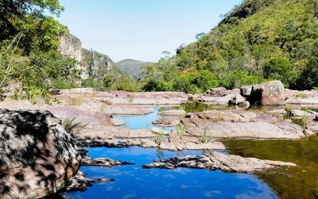 Chapada dos Veadeiros ocupa uma área de 236.570 hectares de belezas naturais