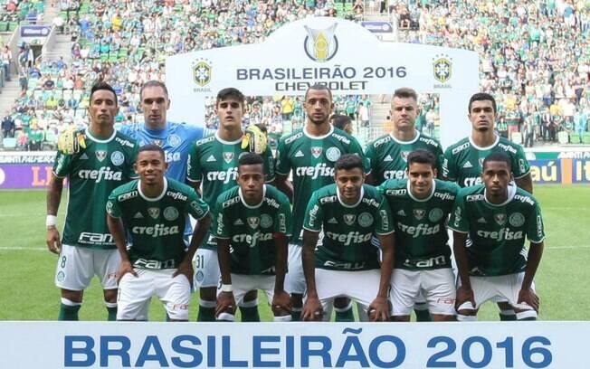Palmeiras foi campeão em 2016