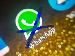 É a segunda vez que o WhastApp é bloqueado no Brasil