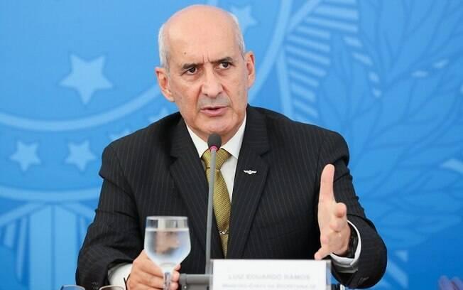 Luiz Eduardo Ramos, ministro-chefe da Secretaria de Governo da Presidência, respondeu mensagem do ministro Celso de Mello, do Supremo Tribunal Federal (STF).