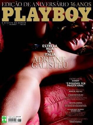 Adriane Galisteu na capa da Playboy