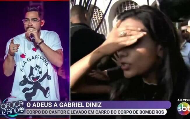 Marcia Danta sofre tentativa de assalto durante velório de Gabriel Diniz