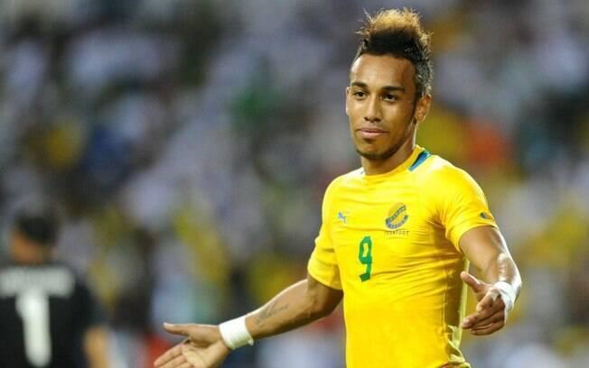 Aubameyang, craque do Borussia Dortmund, não conseguiu levar Gabão para a Copa