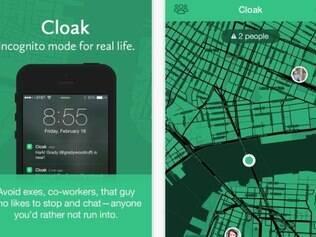 Por enquanto, o aplicativo Cloak só utiliza dados de localização do Foursquare e do Instagram