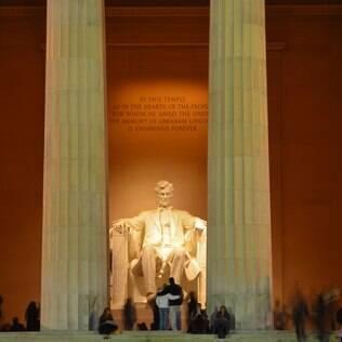 O Lincoln Memorial está entre os monumentos mais visitados de Washington