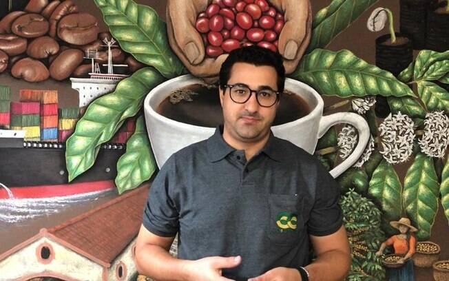 Wellignton Carlos Pereira, gerente de exportação da Cocarive