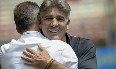 Renato Gaúcho revela problema interno para ex-técnico do Corinthians