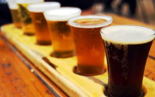 Almoço completo de dia dos pais harmonizado com cervejas