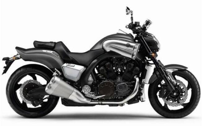 Yamaha V-Max: motor de 1.700 cc de cilindrada, com brutais 200 cv, não passa mais nas normas de emissões Euro 5