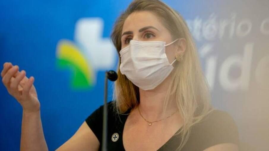 Francieli Fantinato deixou o cargo no Ministério da Saúde no dia 30 de junho