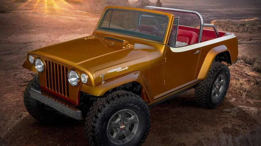 Jeepster Beach: clássico com componentes modernos faz parte do pacote chamativo da marca americana