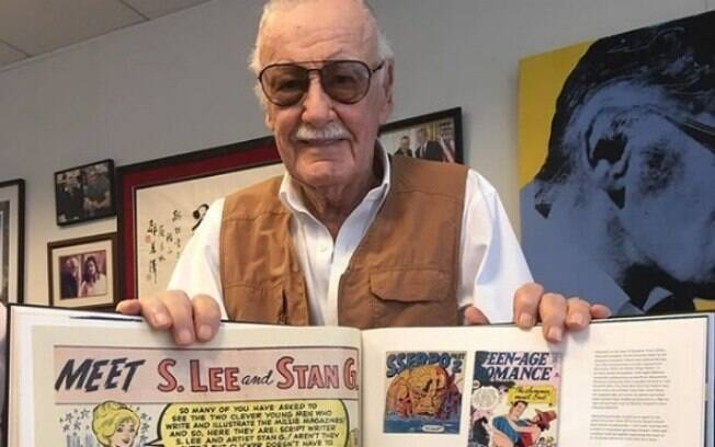 Stan Lee, criador de histórias da Marvel