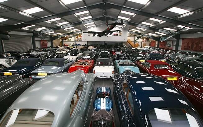 Segundo jornais ingleses, coleção de James Hull está avaliada em 100 milhões de libras esterlinas