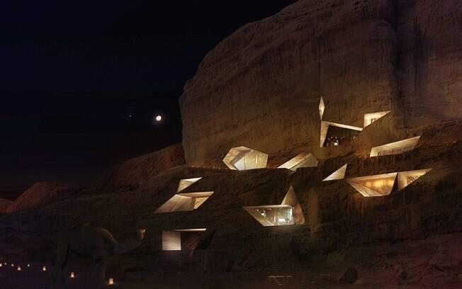Eco-resort Wadi Rum, no deserto da Jordânia, tem inaguração prevista para 2014