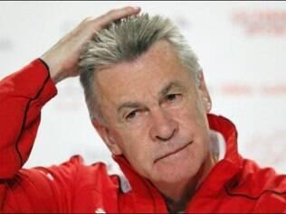 Hitzfeld, disse que seu time e a França são os favoritos para se classificar