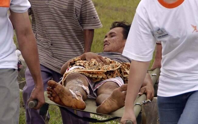 Equipes de resgate atuam no litoral da Indonésia (arquivo). Foto: Wikimedia Commons
