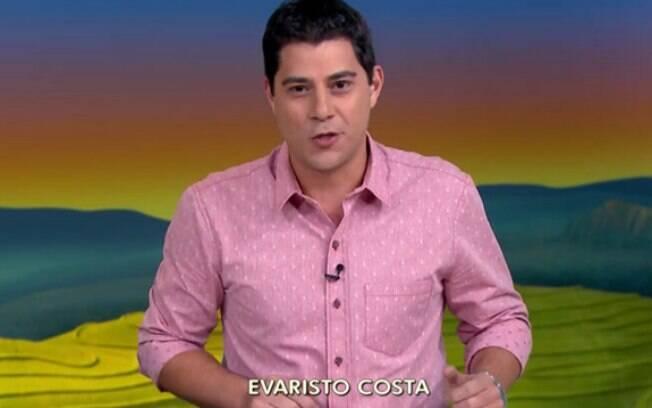 Evaristo Costa é sensação da internet