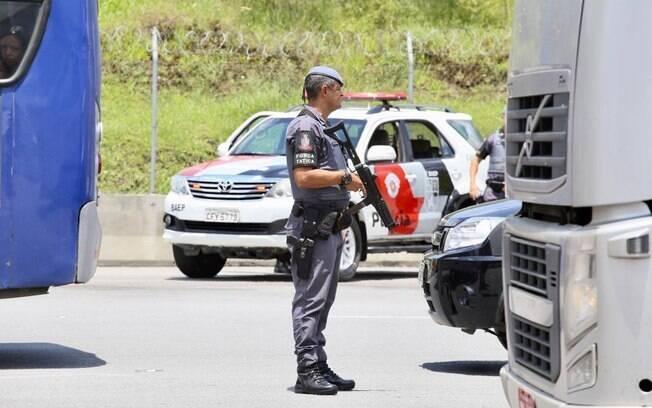 PM realizou 42ª edição da Operação Rodovia Mais Segura. em São Paulo