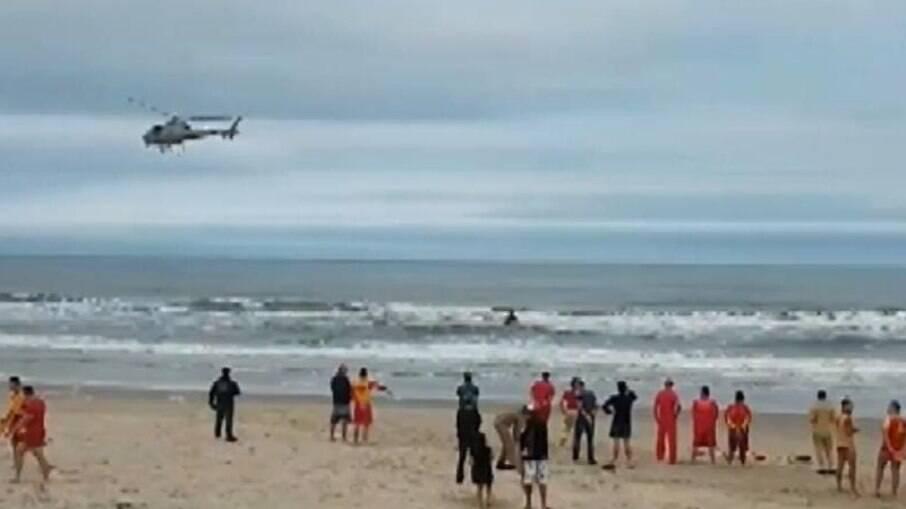 Bombeiro desaparece no litoral paranaense
