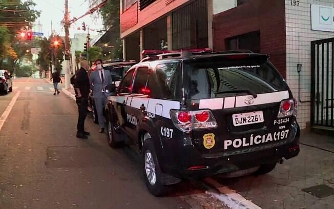 Polícia cumpriu mandado de busca e apreensão na da Iabas.