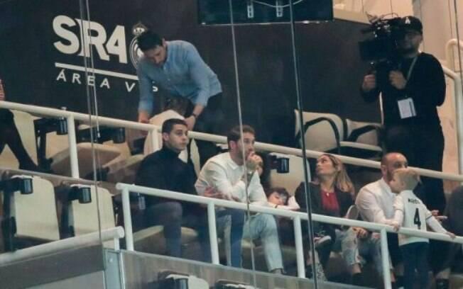 Sergio Ramos filmou documentário durante derrota do Real Madrid