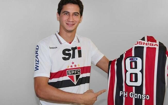 Meia Paulo Henrique Ganso vestirá a camisa 8