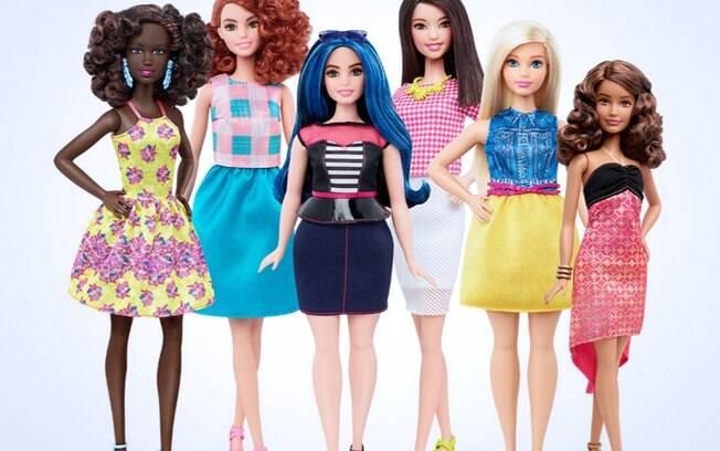 Os fabricantes da boneca afirmam que os novos modelos refletem a realidade das meninas