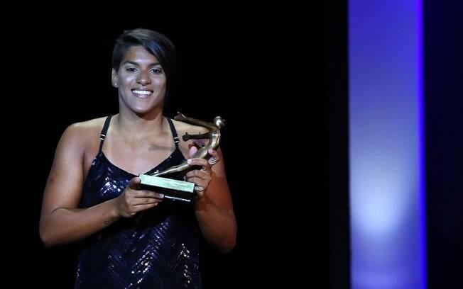 Ana Marcela Cunha: atual campeã da Copa do Mundo de maratona aquática optou por ficar fora do Pan. Foto: SATIRO SODRE/Gazeta Press