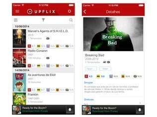 Disponível para Android e iOS, Upflix manda alertas ao usuário cada vez que uma novidade entra no catálogo do Netflix