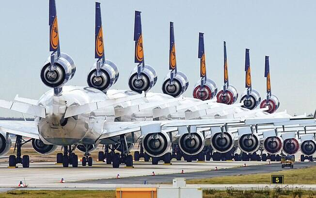 Quantas aeronaves MD-11 ainda estão ativas nos dias de hoje?