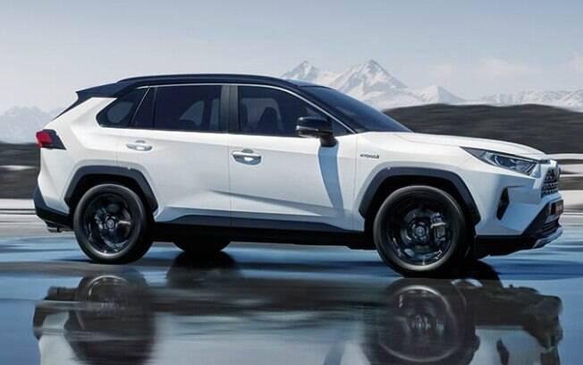 O novo Toyota RAV4 AWD é uma das melhores opções entre os SUVs híbridos