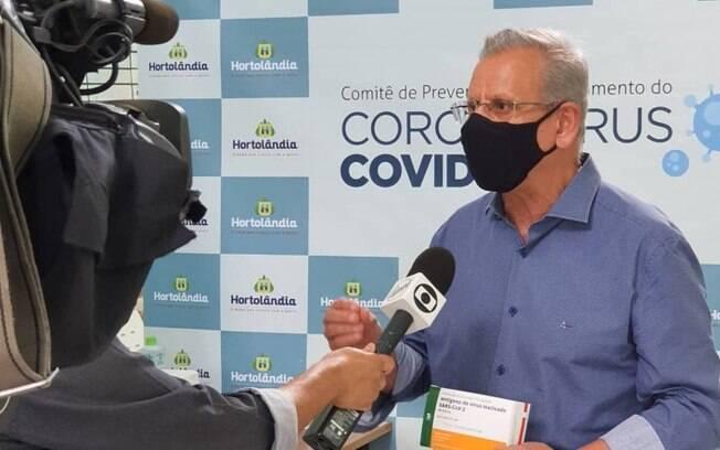 Internado na UTI com covid, Perugini tem piora no quadro de saúde