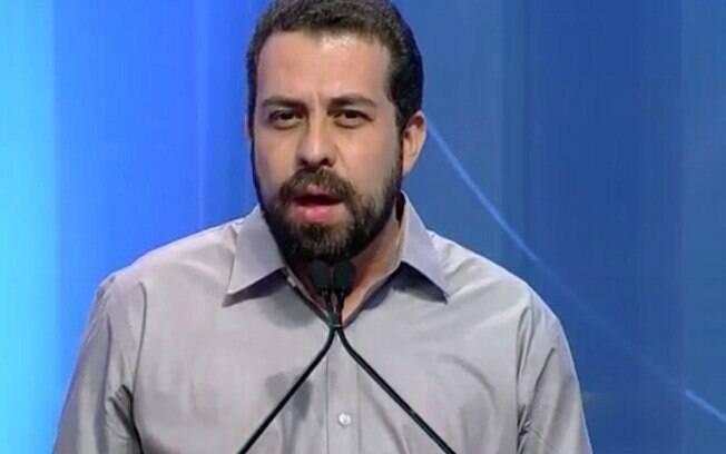 Guilherme Boulos repetiu frase que fez sucesso no debate anterior