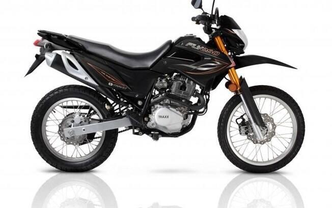 Maior motor e suspensão encontrada em motocicletas de competição podem soar bastante interessantes
