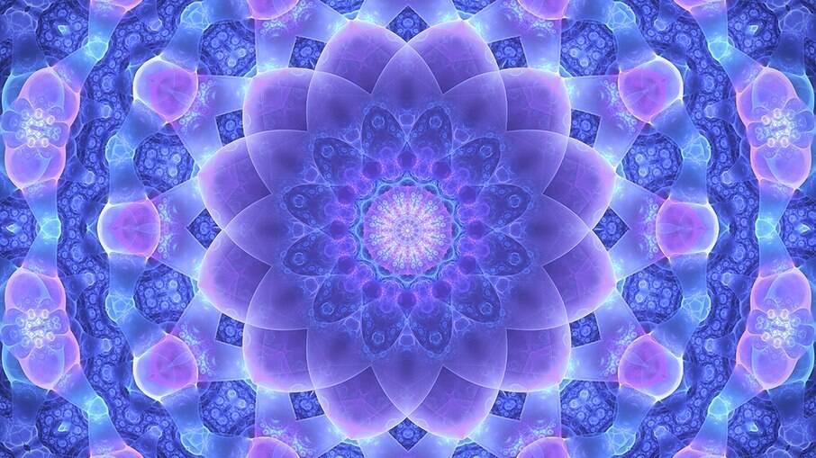 A mandala é uma representação do mapa astral