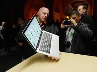 Macbook Pro de 13 polegadas foi apresentado no mesmo dia do lançamento do iPad Mini