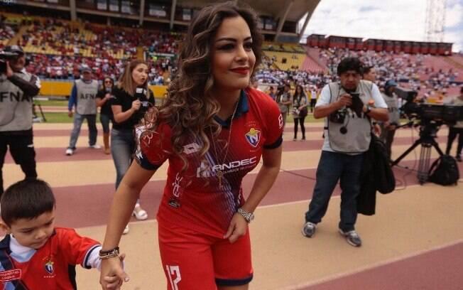 Paraguaia Larissa Riquelme foi eleita