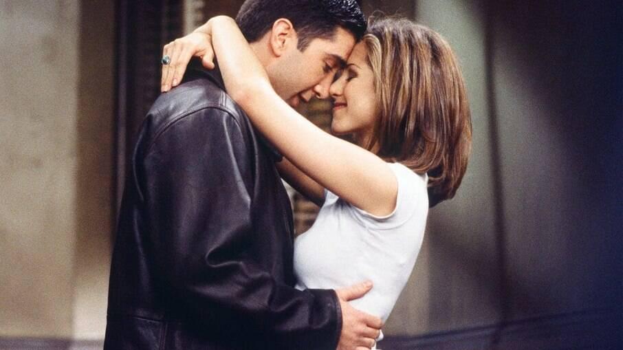 Os dois foram um casal polêmico na série 'Friends'