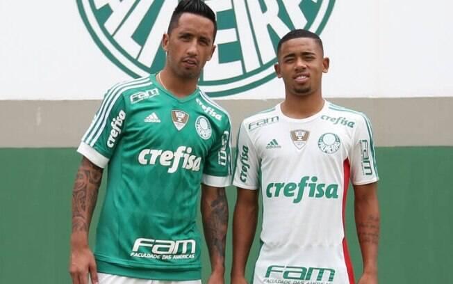 Com patrocínio recorde, Palmeiras lança uniforme da temporada 2016