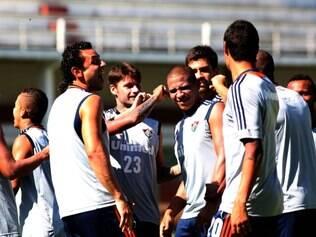 Fred e Walter se preparam para a estreia do Fluminense na Copa do Brasil